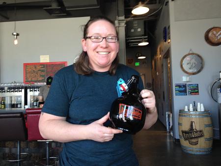 Kim Collins, Headbrewer, Barrels & Bottles
