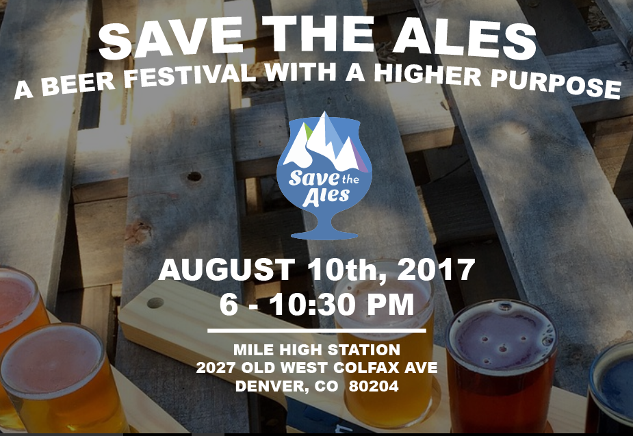 Save the Ales - August 10, 2017
